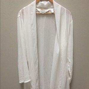 Victoria's Secret Robe Ivory Peignoir Size L/M